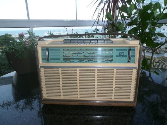 Radio Antigo Philips M- 6 Faixas
