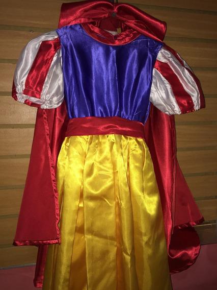 Disfraz Blanca Nieves Talla 4 Hermoso