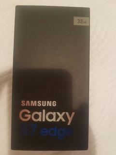 Samsung Galaxy S7 Edge Libre En Su Caja Completa Original