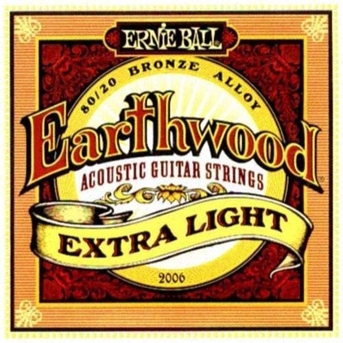 Encordado Para Guitarra Acustica Ernie Ball Eb2006 010 / 050