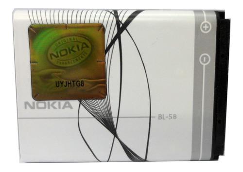 Imagen 1 de 9 de Bateria Original Nokia Bl-5b N80 N90 (2009) 890mah E3042