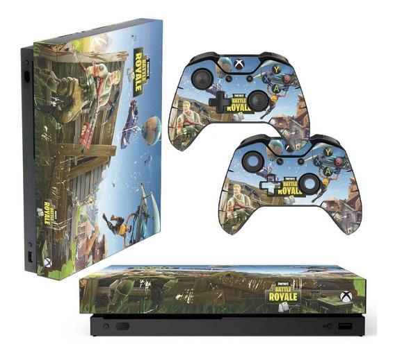 Adesivo Skin Xbox One X Fortnite