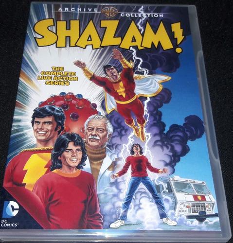 Imagem 1 de 8 de Dvds Poderosa Ísis + Shazam! ( Completo E Dublado 9 Dvds )