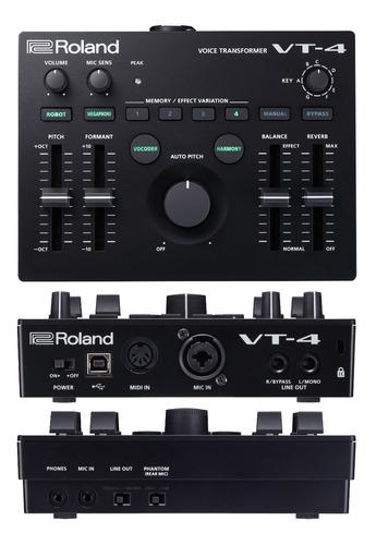 Procesador De Voz Y Efectos Roland Vt-4 - Cuotas