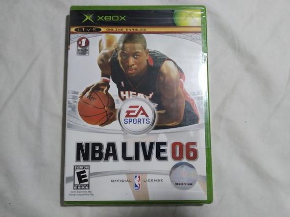 Nba Live 06 - Xbox Novo Lacrado