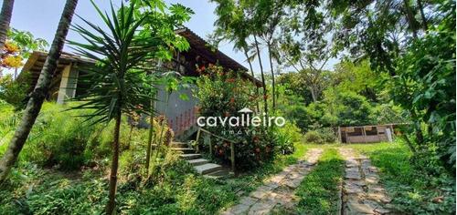 Chácara Com 5 Dormitórios À Venda, 12788 M² Por R$ 480.000,00 - Caxito - Maricá/rj - Ch0075