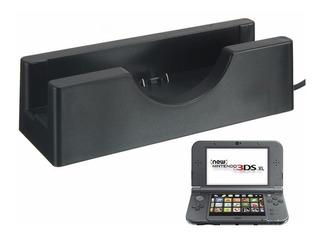 Base De Carga Para Nintendo 3ds 3dsll/xl, Color Negro