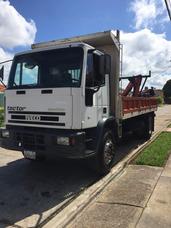 Camion Iveco Tector Con Brazo Pickman
