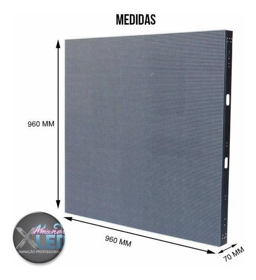 Painel De Led P10 Indoor 0,96 X ,0,96 Pro Light