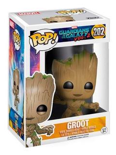 Funko Pop Guardians Of The Galaxy Vol 2 202 Groot Magic4ever