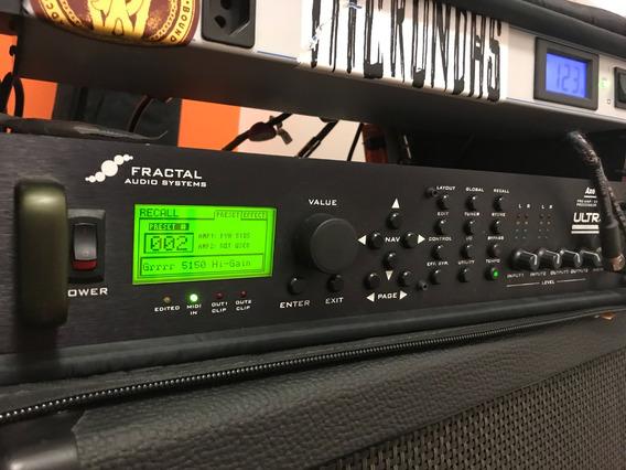 Fractal Audio Axe Fx Ultra + Case E Régua De Energia Brinde