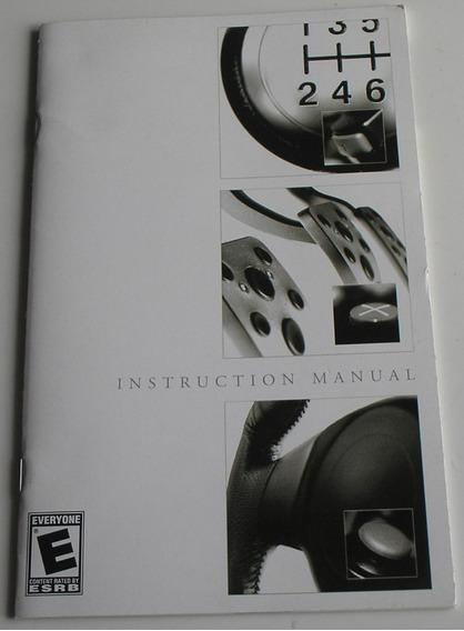 Manual Original Do Jogo Gran Turismo 4 Ps2 Original Usado