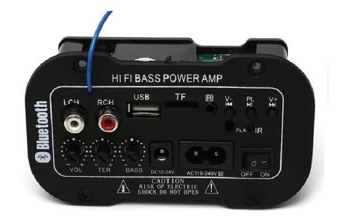 Imagem 1 de 7 de Placa Som Amplificada Decodificador Mp3 Bluetooth Usb Ativa