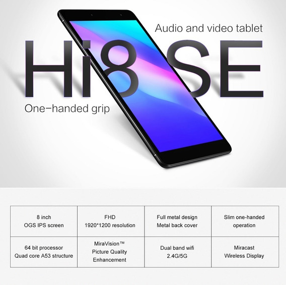 Tablet Chuwi Hi8 Se Android 8.1 2gb 32gb 8 Pol Dual Wifi