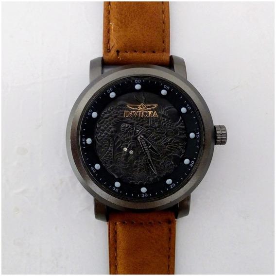 Relógio Masculino Ykz Grafite Barato Pulseira De Couro + Caixinha 12x Sem Juros