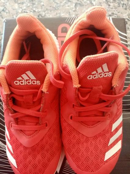 Zapatillas adidas Niños Rojas Talle Uk 11.5