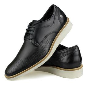 b8e65fe1e3 Sapato Oxford Masculino Preto E Branco - Sapatos com o Melhores ...