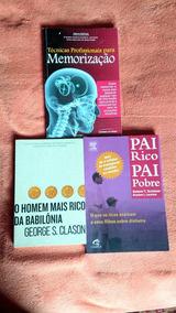 Livros: Pai Rico, Pai Pobre + O Homem Mais Rico Da Babilônia