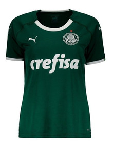 Camisa Puma Palmeiras I 2019 Feminina