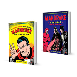 Hq Mandrake 2 Volumes Capa Dura Pixel