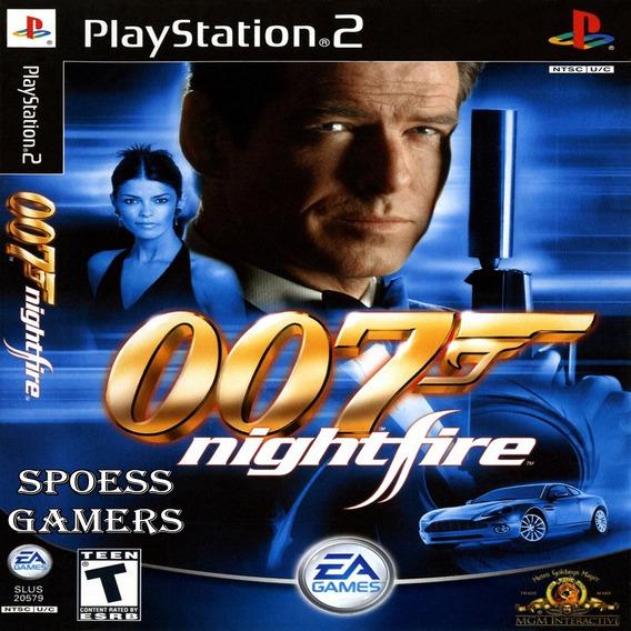 007 Nightfire James Bond Ps2 Desbloqueado Patchs