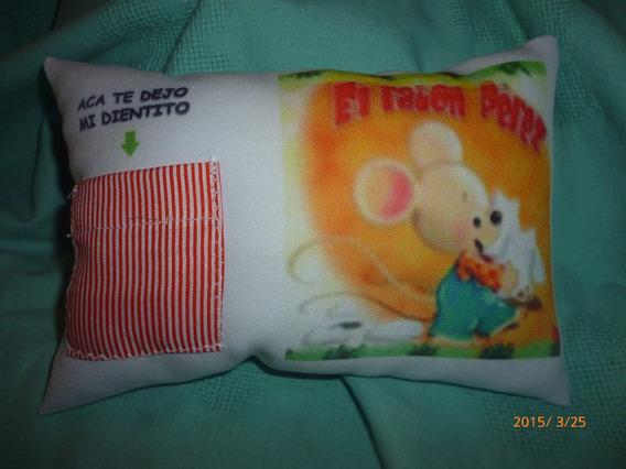Almohadones Ratón Perez, Con Bolsillo