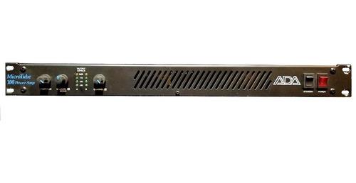 Potencia Ada Microtube 100 Stereo Power Amp Valvular 110v