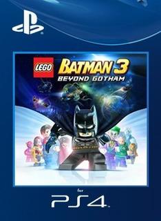 Lego Batman 3 Beyond Gotham Español Juego Ps4