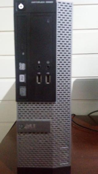 Cpu Dell 3020 Pc Core I3 4° Geração 4 Gb Memoria Hd 464 Gb