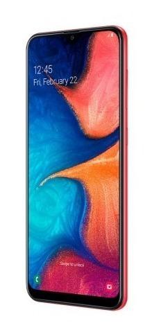 Celular Libre Samsung A20 32gb Ds Rojo