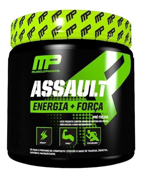 Assault Pré Treino C/ Creatina Bcaa - 300g - Mp Musclepharm