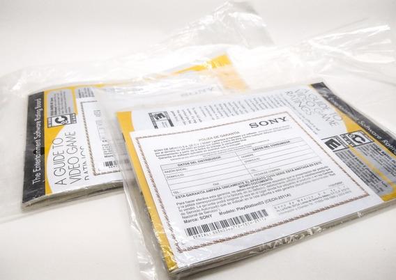 Manual Impresso Ps3 Slim Para Colecionadores Frete Grátis