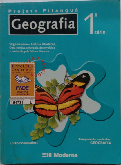 Geografia Projeto Pitanguá 1° Série