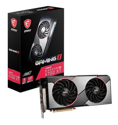 Tarjeta De Vídeo Msi Radeon Rx 5700 Xt Gaming X 8gb