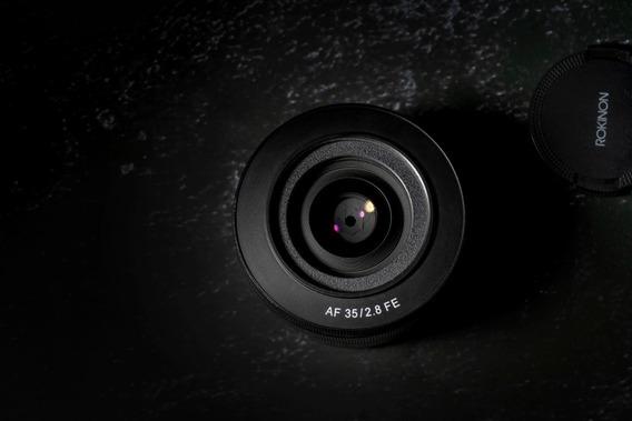Lente Para Sony Fe - Rokinon 35mm F 2.8 Foco Automático