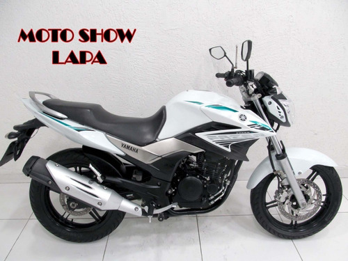Yamaha Fazer 250 Blueflex 2016 Branca