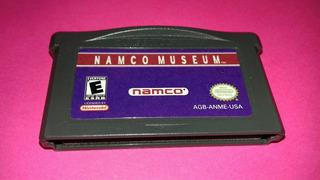 Namco Museum Para Game Boy Advance,funcionando.