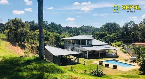 Chácara Com 4 Dormitórios À Venda, 5000 M² Por R$ 1.660.100,00 - Parque Agrinco - Guararema/sp - Ch0092