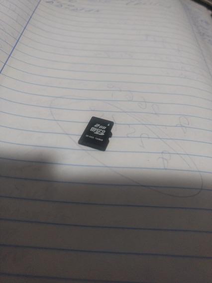Cartão Memória 2 Gigas.