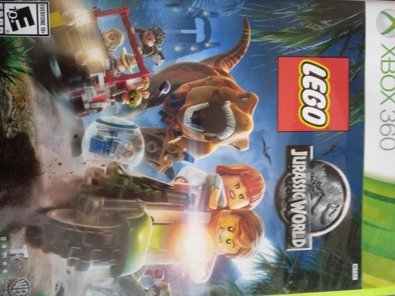 Lego Jurassic Word Usado,xbox 360 Midia Fisica Original