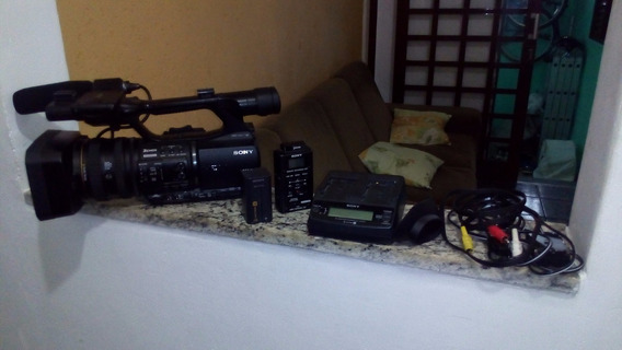 Filmadora Sony Z5 - Com Gravador De Cartão Mrc1 - Full Hd