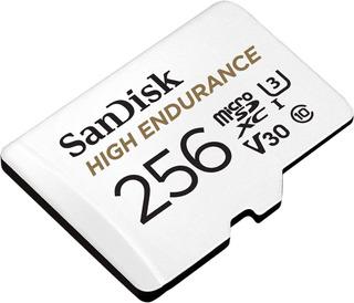 Sandisk Memoria Micro Sd High Endurance 256 Gb Clase 10 4k