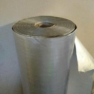 Cortina Avícola Aluminizada Doble Faz Uv 1.52x152 *300*