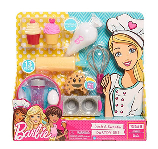 Just Play Juego Rol Set Repostería Barbie Original