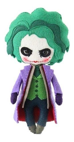 Imagen 1 de 9 de El Joker El Guasón Muñeco De Peluche Y Mas De Fieltro:)