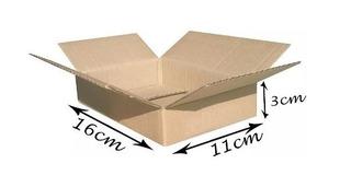 150 Caixas De Papelão Embalagem 16 X 11 X 3 Correio