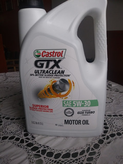 Aceite Castrol Mineral 5w-30 En Garrafa 5 Ltrs Importado