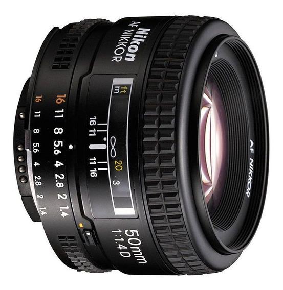 Lente Nikon Nikkor Af 50mm F/1.4d