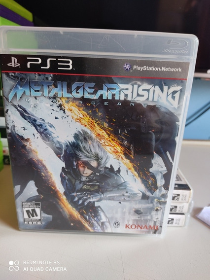 Jogo Metal Gear Rising Para Ps3