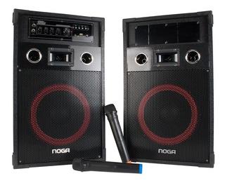 Equipo Bafle Amplificador Sintonizado Bluetooth Usb Fm Noga
